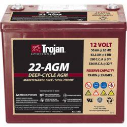 Bateria Trojan 22-AGM