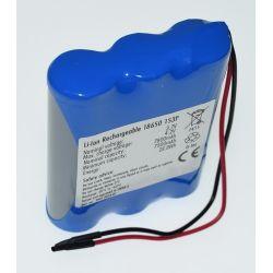 Pack de Baterias de Lítio 18650 3.7 V 7800mAh