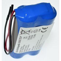 Pack de Baterias de Lítio 18650 7.4 V 2600mAh