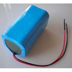 Pack de Baterias de Lítio 18650 14.8 V 2600mAh
