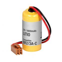 Pilha Lítio 3V 1800mAh conector
