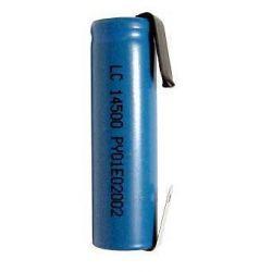 Bateria de Lítio IRC14500 750mAh