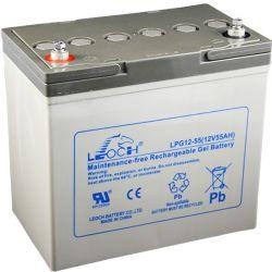 Bateria Gel Leoch 12V 55Ah