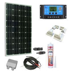 KIt solar 100W incluir a Medida