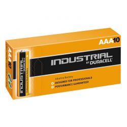 Pilhas Duracell Industrial LR03 AAA 1,5 V Caixa 10