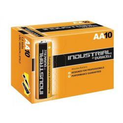 Pilhas Duracell Industrial LR6 AA 1,5 V Caixa 10