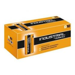 Pilhas Duracell Industrial LR20 D 1,5 V Caixa 10
