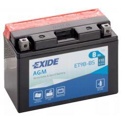 Exide AGM ET9B-BS