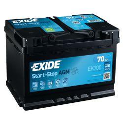 Exide Start Stop EK700