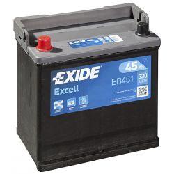 Batería Exide Excell EB451