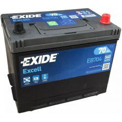 Bateria Exide Excell EB704