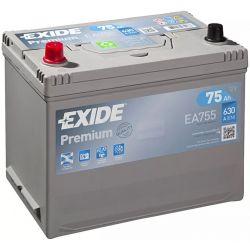 Bateria Exide Premium EA755