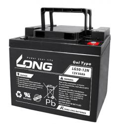 Bateria GEL LONG 12V 50Ah
