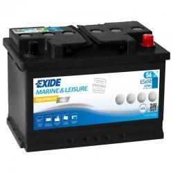 Bateria Exide ES650 GEL 56Ah