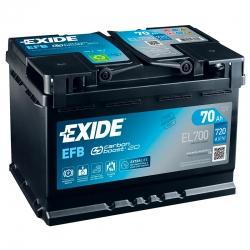 Bateria Exide EL700 70Ah