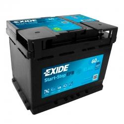 Bateria Exide EL600 60Ah
