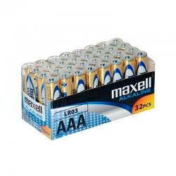 Pilhas Maxell Alcalina AAA...