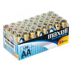 Pilhas Maxell Alcalina AA...