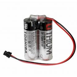 Bateria Litio 3.6V 2ER17500V