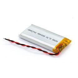 Bateria recarregável Li-polimero 500mAh