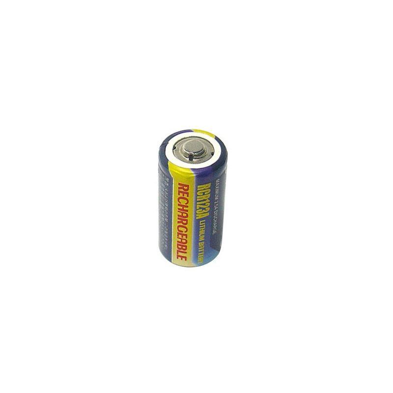 Pilas  de Lítio  recargable CR123