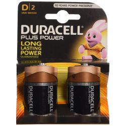 Pilhas Duracell Plus Power LR20