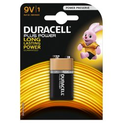 Pilhas Duracell Plus Power 9V