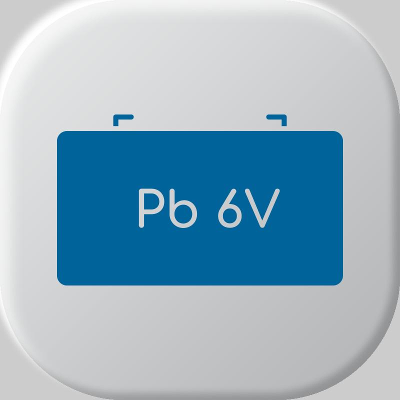 Baterias de chumbo 6V