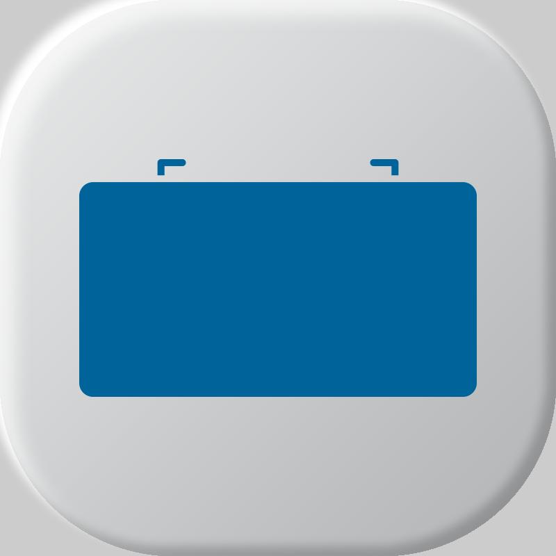 Baterias de chumbo de médicos